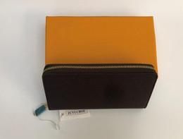 Chinese  designer wallet flower grid designer bags box single zipper women man purses designer luxury purses bag wallets purse bags manufacturers