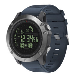 $enCountryForm.capitalKeyWord Australia - New VIBE3 Flagship Red Bluetooth Smart Watch 33 month Standby Time 24h All-Weather Monitoring Smartwatch For Android IOS