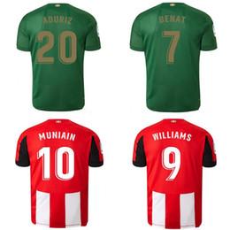 19 20 Athletic Bilbao Club Home camisetas de fútbol 2019 2020 Aduriz Williams Sola Muniain camisetas de fútbol hombre niños kit uniforme de fútbol en venta