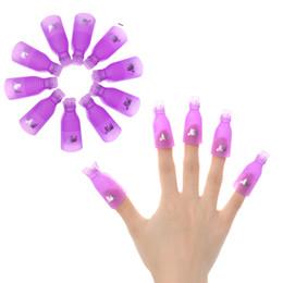 $enCountryForm.capitalKeyWord Australia - tools Biutee 10 Pcs Lot Remover Gel Art Soakers UV Nail Degreaser Polish Wrap Tool Nails Remover Soak Off