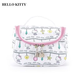 Multifunction Beauty Zipper Travel Make Up Toiletry Pouch Cosmetic Case  Women Portable Cute Hello Kitty Cosmetic Bag 57a71fb743