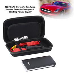 12v Pack Australia - 12V 30000mAh Portable Car Jump Starter Pack LED Charger Battery Power Bank Portable Emergency Starting Power Supply