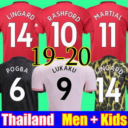 46b286179 Man united soccer online shopping - Thailand POGBA LINGARD manchester  soccer united jerseys utd RASHFORD football