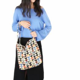 Multi Color Hand Bag Australia - Multi-color single-shoulder bag belt large capacity corduroy winter 2018 vintage flower women simple casual hand bag