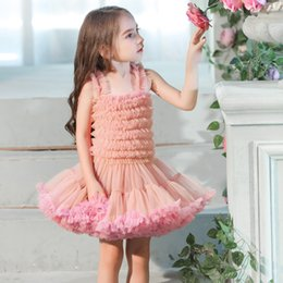 Red Tutus For Sale Australia - Hot Sale Kids Slip Dresses Cute Girls Princess Dresses Tutu Ball Gown Birthday Party Costumes for Children