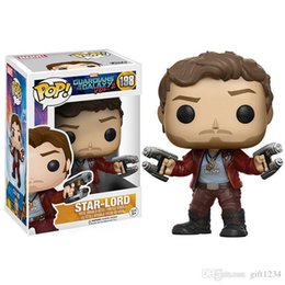 $enCountryForm.capitalKeyWord Australia - Kids toy 2019 arrival Funko POP Guardians of the Galaxy Star-Lord Vinyl Action Figure with Box #198Toy Gift Doll Free Shipping