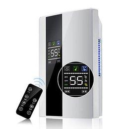 Início 2.2L Dehumidifier controle remoto grande ecrã LCD Secador de ar completa desligamento Purifier em Promoção