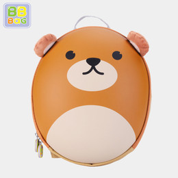 bb cute NZ - Korean Style BB BAG Brand New School Bags for Children Preschool Cute Panda Pattern Backpack EVA Waterproof Satchel for Boy Girls