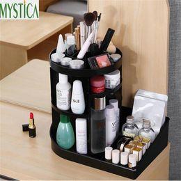 $enCountryForm.capitalKeyWord Australia - NEW 360-degree Rotating Makeup Storage Box Brush Jewelry Organizer Case Home Cosmetic Organizer Box Creative Containers Holder