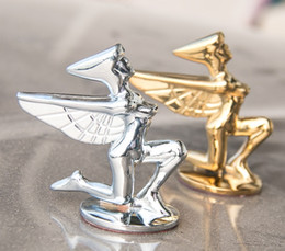 $enCountryForm.capitalKeyWord Australia - Universal goddess Metal Car Decoration 3D Car Emblem Badge Auto Front Hood Bonnet Sticker
