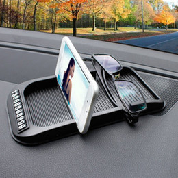 Gel paper online shopping - Car Dashboard Anti Slip Mat With Cell Phone Number Silica gel Auto Non slip Pad For Paper Towels GPS Phone Auto Car Accessories
