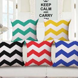 $enCountryForm.capitalKeyWord Australia - Will Wave Pillow Colour Wave Cushion Set Come Picture Customize Back Cushion