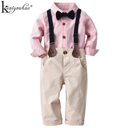 $enCountryForm.capitalKeyWord Australia - 2019 Spring Baby Boys Clothes Sets Christmas Toddler Boy Clothes Gentleman Outfits Suit Children Clothing Costume For Kids
