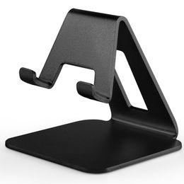 Mobile Tablet Stand NZ - Universal Mobile Phone Bracket Aluminum Metal Cell Phone holder Tablets PC Desk Stand Holder