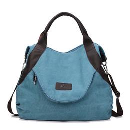Multi Color Ladies Handbags Australia - Crossbody Bag For Women Canvas Luxury Handbag Women Bag Designer Ladies Shoulder Handbag Famous Brand Top Quality