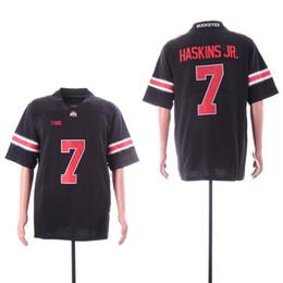 b2d5dc4e1 Ohio State Buckeyes 7 Dwayne Haskins Jr 15 Ezekiel Elliott 97 Joey Bosa Red  Black White Men NCAA College Football jerseys Youth Stitched