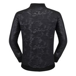 $enCountryForm.capitalKeyWord Australia - Brand Men Jacket Coats Bikers Motorcycle Jackets Autumn Spring Clothes Outwear Overcoat Boy Tops Large SizeM- 3XL Black