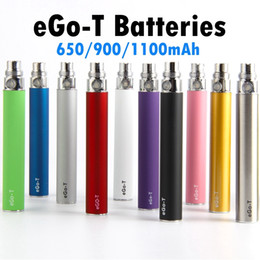 Ego T Ce5 Clearomizer Australia - EGO T Vape Pen Battery 510 Preheat Batteries for Electronic Cigarette CE4 Carts Atomizer CE5 Clearomizer 650mAh 900mAh 1100mAh EVOD Battery