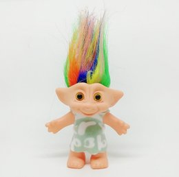 Chinese  Nostalgia for Indian Hair Troll Doll Family Members, Mom and Dad, Boys and Girls, Goblins Dam, Toys, Happy Love Family, Children's Day Gifts manufacturers