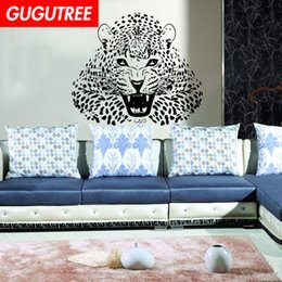 $enCountryForm.capitalKeyWord Australia - Decorate Home leopard cartoon art wall sticker decoration Decals mural painting Removable Decor Wallpaper G-2174