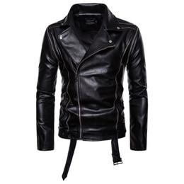 Washing Motorcycle Jacket Australia - 2019 Brand Man Zipper Washed Motorcycle Stand Collar Pu Leather Jacket Two Removable Sleeves Jaqueta Masculinas Jacket Men Black