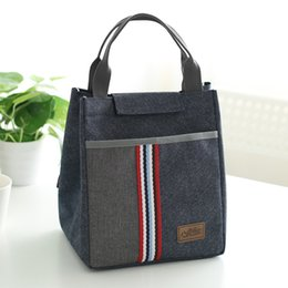 student lunch boxes UK - Lunch bags new style portable student thermal bag oxford cloth retain freshness lunch bags for women box dachshund bag