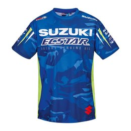 Quick Drying Sports T Shirt Australia - Free shipping 2018 Moto GP SUZUKI T-Shirt FOR Motorcycle Racing Sports Team Race Edition T-SHIRTMen's short sleeve Quick-drying Jersey T-