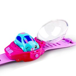 ElEctric toy rabbit online shopping - Silverlit styles Watch remote control car MY LIL RACEBAND Rabbit Dog Cat Shaped cars Intelligent Watch LA99