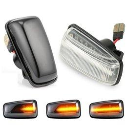 2Pcs Flowing Turn Signal Side Marker Light Lamp Blinker For Saxo Berlingo Xsara For Partner 306 406 806 on Sale