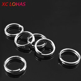 $enCountryForm.capitalKeyWord Australia - split rings 100pcs pack Stainless Steel Fishing Split Rings for Blank Lures Crank Bait O Ring Fishing Connector for Lure to Hook Accessories