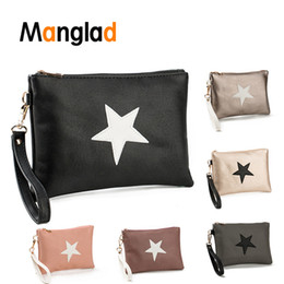 holder wrist 2019 - Women Envelope Bag Women Handbags Girls Leather Clutch Nylon Female Wrist Bags PU Leather Dinner Party Pack Wallet Card