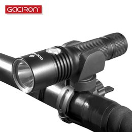 Bright Torch Lumens Australia - GACIRON Bicycle 860 Lumens Super Bright MTB Bike Cycling Flash Lights Waterproof Front Head LED Torch Light bike accessories #315793