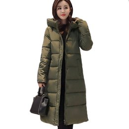 Womens Parkas Australia - Long Warm Thicken Winter Jacket Women Snow Wear Cotton Padded Outerwear For Women Womens Coat Plus Size 3xl Parka High Quality
