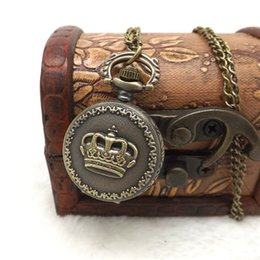 $enCountryForm.capitalKeyWord Australia - Reloj Vintage Pendant Fob Watches Mens Women Fashion Chain Necklace Pocket Watch Women's Dress Hours Retro Quartz Watch #Zer