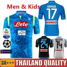 Discount napoli soccer jerseys - 2019 Napoli Soccer Jersey Champions League  18 19 Naples Soccer Shirt a3489194d
