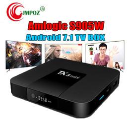 $enCountryForm.capitalKeyWord Australia - 1 PCS Original TX3 mini 1GB 8GB Android 7.1 TV Box Amlogic S905W Krypton Support IPTV HDMI Streaming Media Player