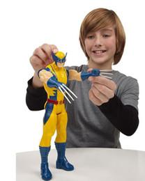 "$enCountryForm.capitalKeyWord NZ - Retail Wholesale Marvel Super Hero X -Men Wolverine Pvc Action Figure Collectible 12 ""30cm"