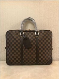 Travel lapTop cases online shopping - Men Briefcase New Soft Leather Handbags Men S Casual Travel Bag Shoulder Messenger Crossbody Bags Man Laptop Computer Case
