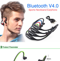 s9 sport neckband bluetooth headphone headset Australia - S9 Wireless Headphone Sport Bluetooth Earphone True Cordless Earbuds Handsfree Headset with Mic for Phone Intelligent noise reduction