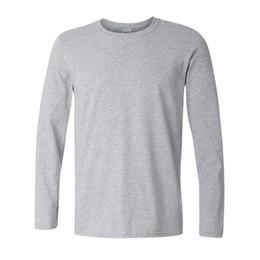 Mens Long Sleeve T Shirt Xxl Australia - Brand New Classic Men T Shirt Long Sleeve O Neck Mens T-shirt Cotton Tees Tops Mens Brand Tshirt Plus Size Xs- Xxl Sweatshirts