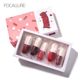 $enCountryForm.capitalKeyWord Australia - FOCALLURE New matte lipstick waterproof red brown velvet long lasting lipstick waterproof set women lips maquiagem