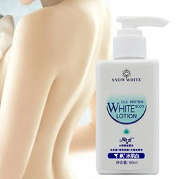 Wholesale Dropshipping IN STOCK 180ml Snow White 100% Original Whitening Cream Face and Body Lotion Body Skin Care Cream