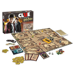 Hot Games Australia - 5set Hot Sale Clue Harry Potter Board Game Action Figures Collector's Edition Brand New Sealed Set Witchcraft Game Collection Cards Kit Toy