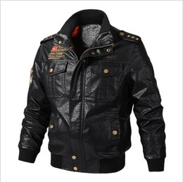 Best Prices Clothes Australia - Mens 2019 Luxury Designer Clothes PU Leather Jackets Best Price Fashion patch jacket Casual Streetwear luxury Mens Coat Size M-6XL