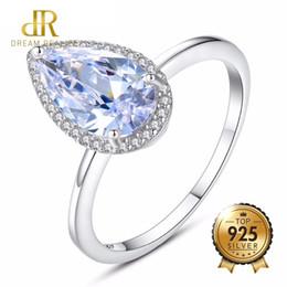 Cz Heart Cluster Ring Australia - DR Brand 925 Sterling Silver Heart Shape Rings for Women with Mini Bling Bling CZ Crystal for Girl Valentne's Day Gift