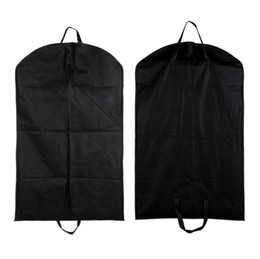 $enCountryForm.capitalKeyWord UK - Black Dustproof Hanger Coat Clothes Garment Suit Cover Storage Bags,clothes storage,almacenamiento,Case for clothes SN3020