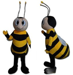 $enCountryForm.capitalKeyWord Australia - High quality hot brand giant honey bee mascot costume suit for adults for sale