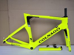 Complete road bike biCyCle online shopping - 2018 new colnago concept T1000 UD racing full carbon road frame bicycle complete bike frameset can special XDB shipping many color