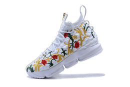 $enCountryForm.capitalKeyWord NZ - Athletic KITH LeBrom 15 Performance King's Cloak White Multicolor Men Basketball Shoes 15s Closing Ceremony Black Suit of Armor Sneakers