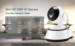 cctv wifi ip NZ - Home Security Wireless Mini IP Camera Surveillance Camera Wifi 720P Night Vision CCTV Camera Baby Monitor